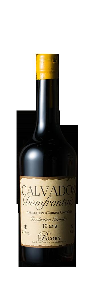 Calvados Domfrontais 12 ans